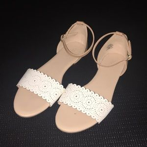 White and Tan Flats